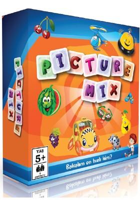 Mor Testi Picture Mix 5+ Yaş Zeka Oyunu
