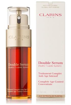 Clarins Double Serum Traitement Complete Age Control 50 ml Yaşlanma Karşıtı Onarıcı Serum