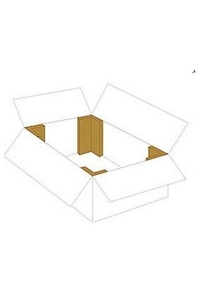 Kraft Karton Köşebent 100 cm Köşe Koruyucu Köşe Koruma Kartonu 100'LU