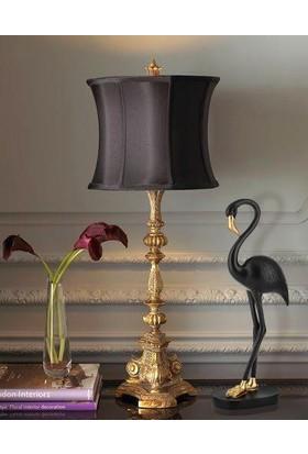 Çiçekmisin Flamingo Masaüstü Dekoratif Obje 46 Cm - Siyah