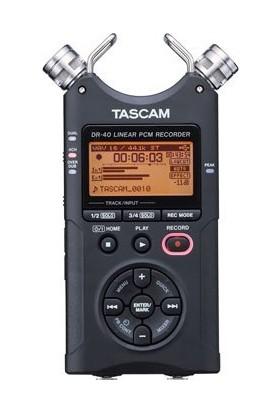 Tascam DR-40 4-Track Portable Digital Ses Kayıt Cihazı