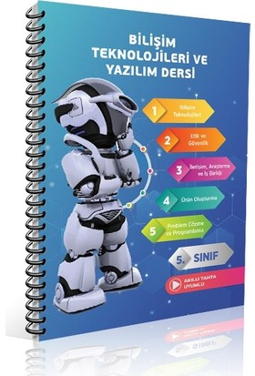 Referans Yayınları Bilişim Teknolojileri ve Yazılım Dersi 5.Sınıf