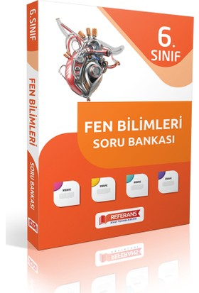 Referans Yayınları 6. Sınıf Fen Bilimleri Soru Bankası