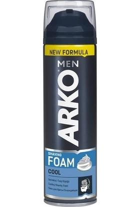 Arko Men T3 Pro 3 Bıçaklı Tıraş Bıçağı 3'lü & Cool Tıraş Köpüğü 200 ml & Cool Tıraş Kolonyası 250 ml Süper Fırsat Paketi