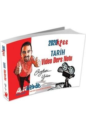 2020 Kpss Tarih Video Ders Notu Hocawebde Yayınları - Aydın Yüce