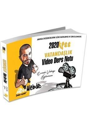 Hocawebde 2020 KPSS Vatandaşlık Video Ders Notu - Emrah Vahap Özkaraca