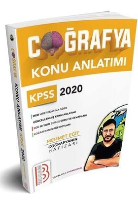 Benim Hocam 2020 KPSS Coğrafyanın Hafızası Konu Anlatımı - Mehmet Eğit