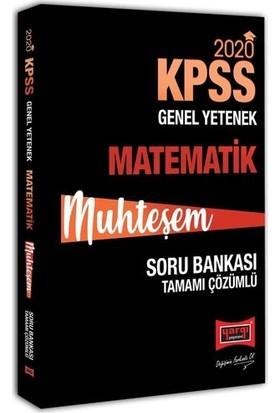 Yargı Yayınevi 2020 KPSS Muhteşem Matematik Tamamı Çözümlü Soru Bankası