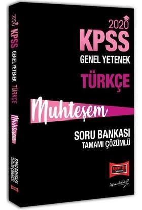 Yargı Yayınevi 2020 KPSS Muhteşem Türkçe Tamamı Çözümlü Soru Bankası