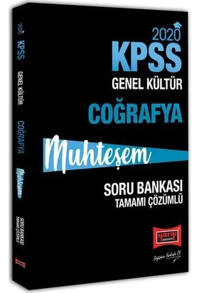 Yargı Yayınları 2020 Kpss Muhteşem Coğrafya Tamamı Çözümlü Soru Bankası