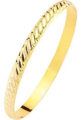 Bilezikhane Hediyelik Bilezik 3.00 Gram Burma Model 14 Ayar Altın
