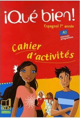 Belin Publishing Que Bien Cahier Activtites