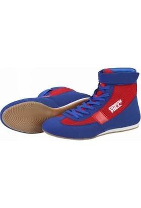 Green Hill Profesyonel Güreş Ayakkabısı Blue Red
