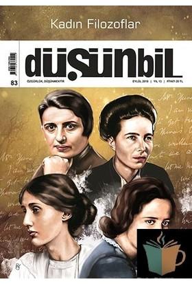 Düşünbil Dergisi Sayı :83 Eylül