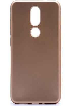 Kaltel Gsm Casper Via A2 Mat Premier Silikon Kılıf + Cam Ekran Koruyucu - Gold