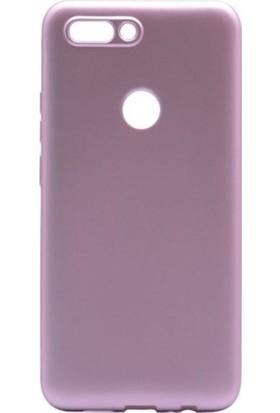 Kaltel Gsm Casper Via F2 Mat Premier Silikon Kılıf + Tam Koruma Full Kaplayan Ekran Koruyucu - Rose Gold
