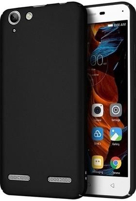 Kaltel Gsm Lenovo K5 Mat Premier Silikon Kılıf + Tam Koruma Full Kaplayan Ekran Koruyucu - Siyah