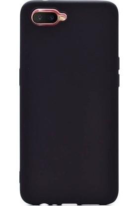 Kaltel Gsm Oppo Rx17 Neo Mat Premier Silikon Kılıf - Siyah