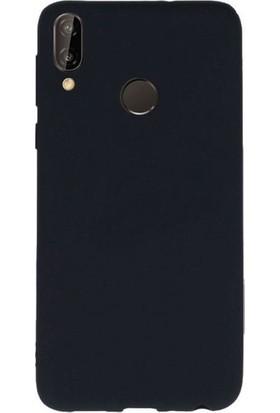 Kaltel Gsm Samsung Galaxy A40 Mat Premier Silikon Kılıf + Cam Ekran Koruyucu - Siyah