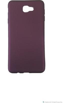 Kaltel Gsm Samsung Galaxy J7 Prime Mat Premier Silikon Kılıf - Mürdüm