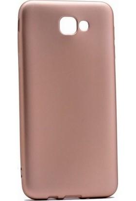 Kaltel Gsm Samsung Galaxy J7 Prime Mat Premier Silikon Kılıf - Gold