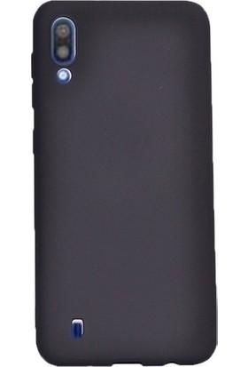 Kaltel Gsm Samsung Galaxy M10 Mat Premier Silikon Kılıf + Cam Ekran Koruyucu - Siyah