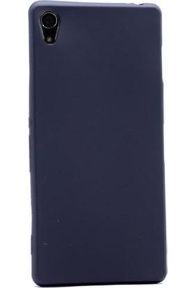 Kaltel Gsm Sony Xperia Z4 Mat Premier Silikon Kılıf + Cam Ekran Koruyucu - Siyah