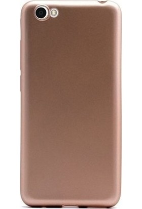 Kaltel Gsm Vestel Venüs E2 Mat Premier Silikon Kılıf - Gold