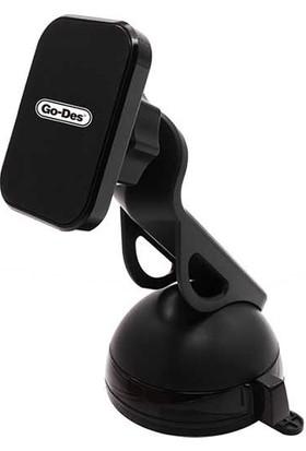 Go-Des GD-HD604 Mıknatıslı Araç İçi Tutucu-Siyah