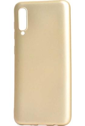 Tbkcase Meizu 16XS Kılıf Lüks Silikon Gold