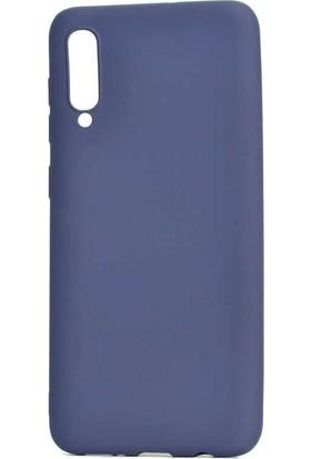 Tbkcase Meizu 16XS Kılıf Lüks Silikon Lacivert