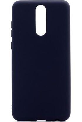 Tbkcase Meizu Note 8 Kılıf Lüks Silikon + Nano Ekran Koruyucu Siyah