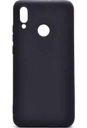 Tbkcase Meizu Note 9 Kılıf Lüks Silikon Siyah