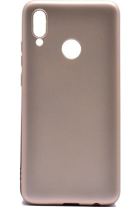 Tbkcase Meizu Note 9 Kılıf Lüks Silikon + Nano Ekran Koruyucu Gold