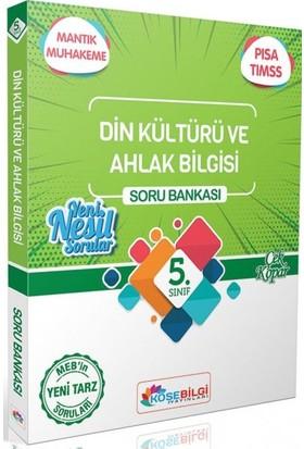 Köşe Bilgi Yayınları 5. Sınıf Din Kültürü ve Ahlak Bilgisi Özet Bilgili Soru Bankası