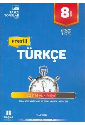 Başka Yayınları 8.Sınıf Türkçe Yeni Nesil Soru Kitabı