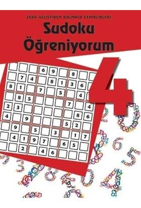 Sudoku Öğreniyorum 4 / Zekâ Geliştiren Bulmaca Etkinlikleri-Kolektif