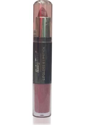 Ruby Rose Lipgloss & Lipstick 108