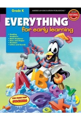 American Education Publishing - Everythıng For Early Learnıng : Grade K