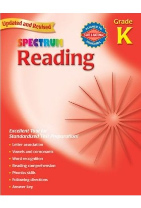 American Education Publishing - Spectrum Readıng Grade K