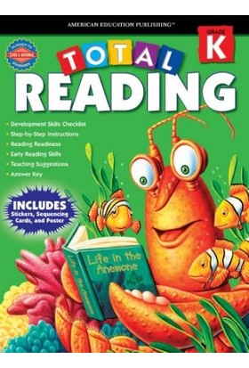 American Education Publishing - Total Readıng Grade K