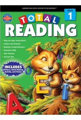 American Education Publishing - Total Readıng Grade 1