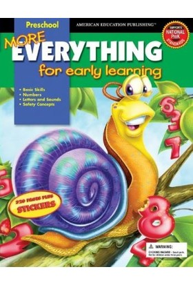 American Education Publishing - More Everythıng Pre-K