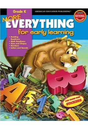 American Education Publishing - More Evrythıng Grade K