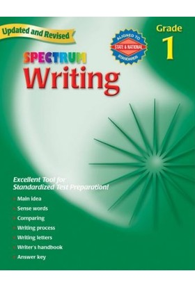 American Education Publishing - Spectrum Wrıtıng Grade 1