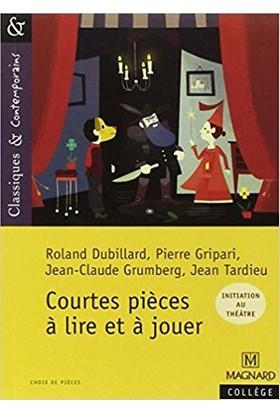 Courtes Pièces À Lire Et À Jouer - C.Bertagna/F.Carrier