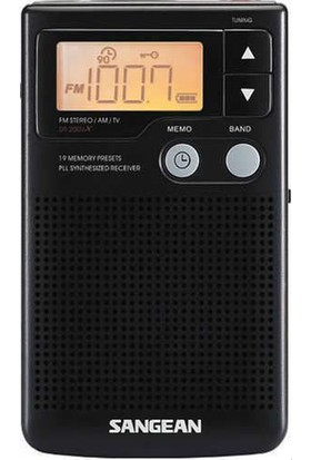 Sangean DT-200X FM-Stereo/AM Audio Digital Tuning Radio