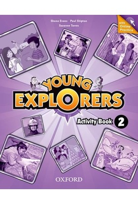 Young Explorers: Level 2: Activity Book With Online Practice