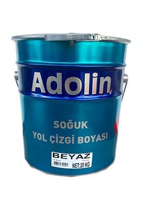 Adolin Soğuk Yol Çizgi Boyası Beyaz 20 kg