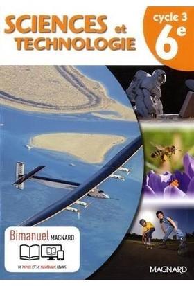 Bimanuel Sciences Et Technologie Cycle 3 /6ème (Versions papier + Numérique)